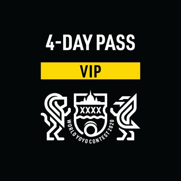 VIP 4-DAY PASS - WYYC 2020